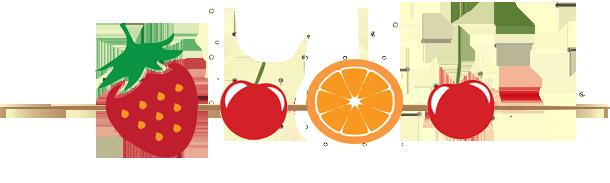 Deliziosi spiedini di frutta fresca caramellata