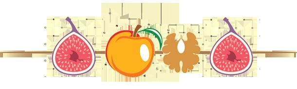 Golosi spiedini di frutta secca caramellata